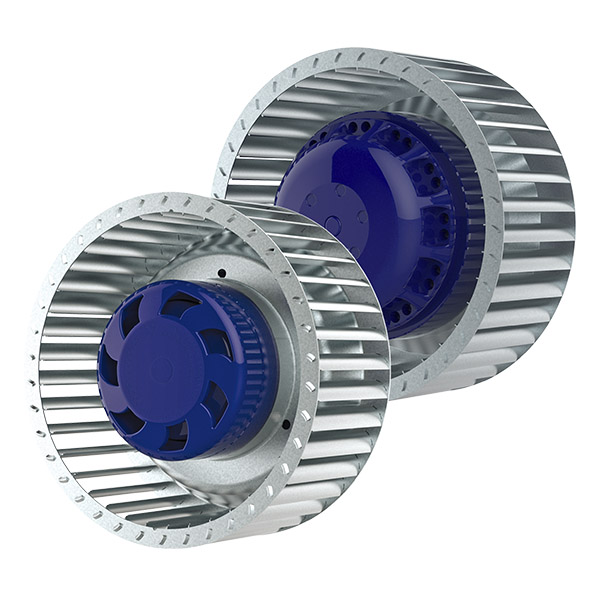 Fans with forward-curved blades up to 1000 m3/h