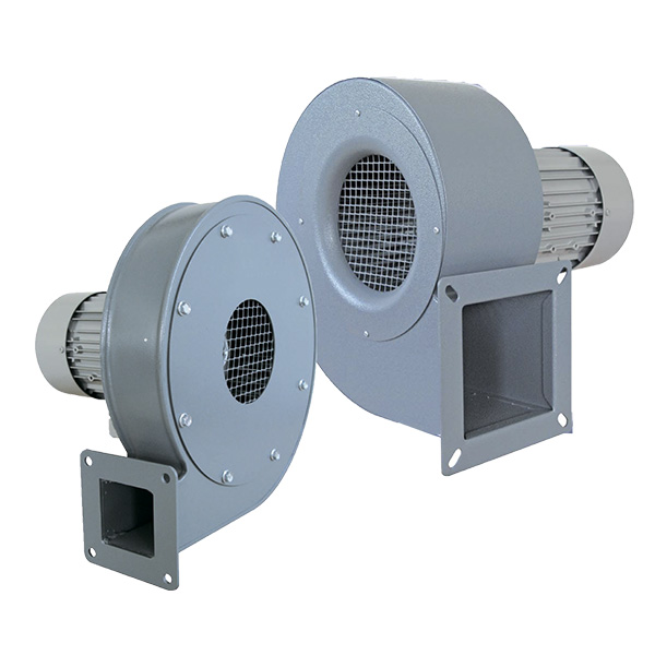 Вентилятори нагнітальні в корпусі з листового металу